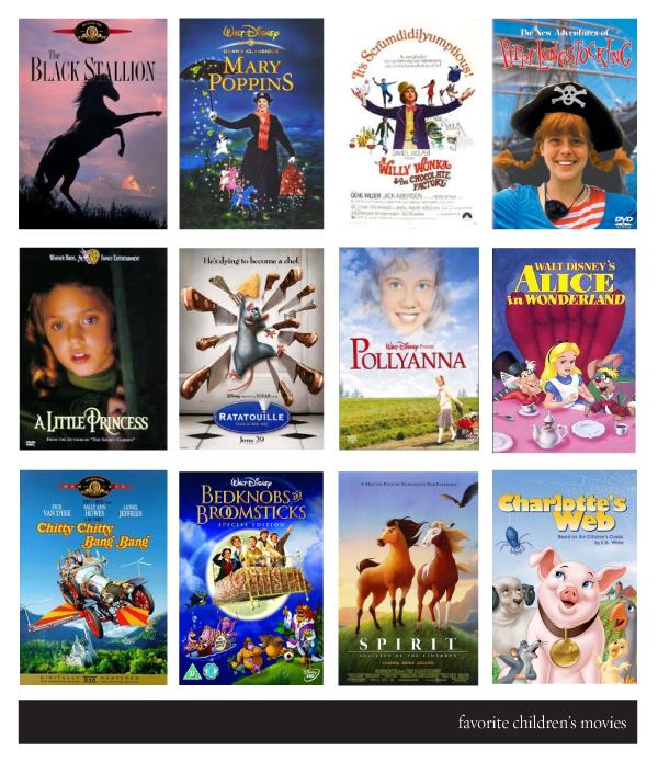 Black eiffel 12 great children s movies