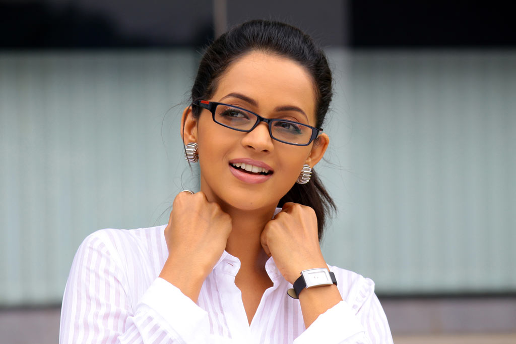 South Babe Bhavana Stills in White