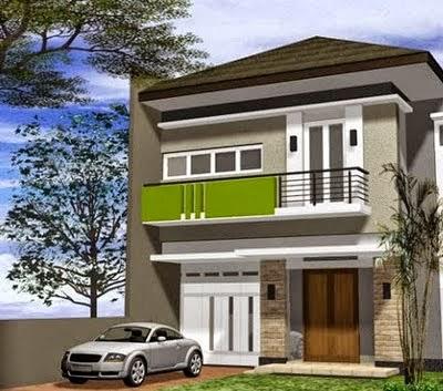 Desain Rumah Minimalis Type 60 2 Lantai