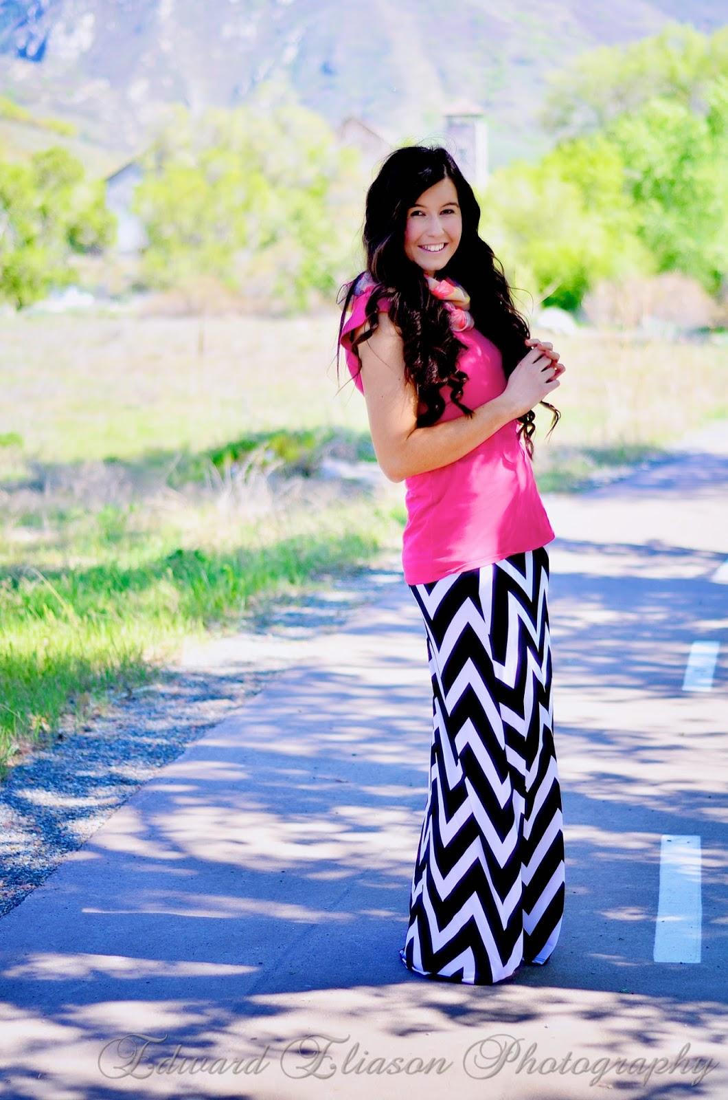 chevron maxi skirt, chevron print, chevron outfit, maxi skirt, striped maxi skirt, pink and chevron, the old mill, cottonwood canyon, old mill, pretty,