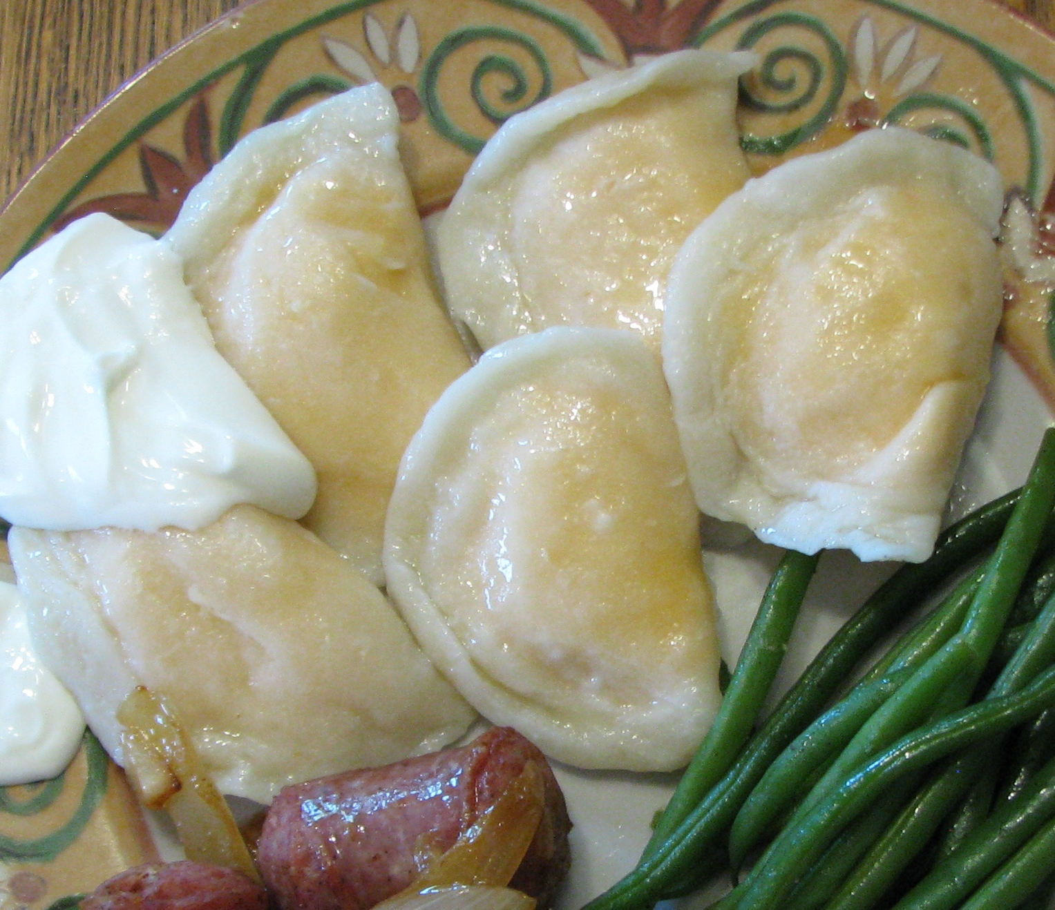 Perogies from Ann's Perogey Palace, Winnipeg