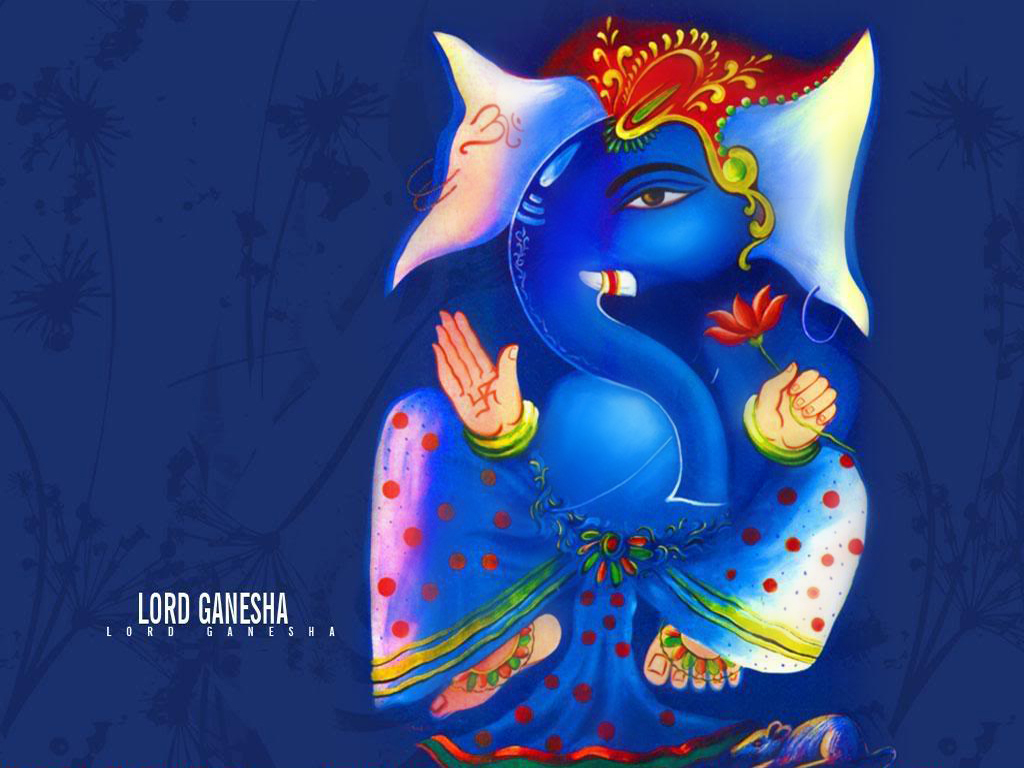 lord ganesha wallpaper computer background - photo #30