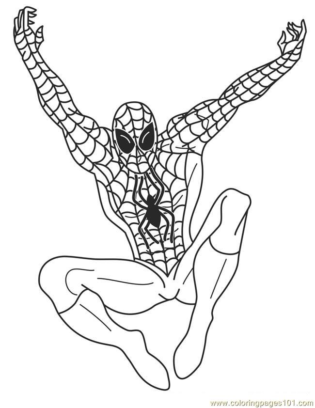 Printable Superhero Coloring Pages Reviewed by Ben Joshua on Thursday ...