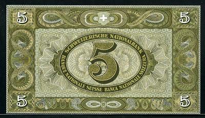 Switzerland 5 Swiss Franken