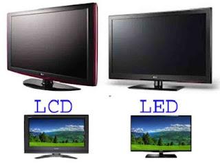 perbedaan lcd dan led laptop,monitor komputer,tv lcd dan led serta plasma,