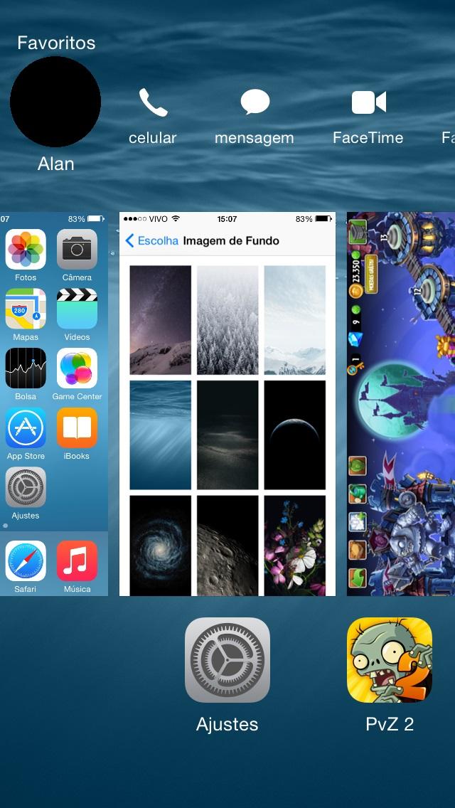 Contatos iOS 8
