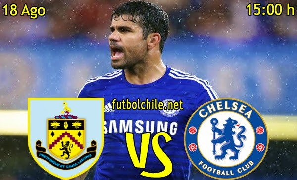 Burnley vs Chelsea - Premier League - 15:00 h - 18/08/2014