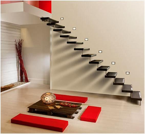 model tangga untuk rumah minimalis