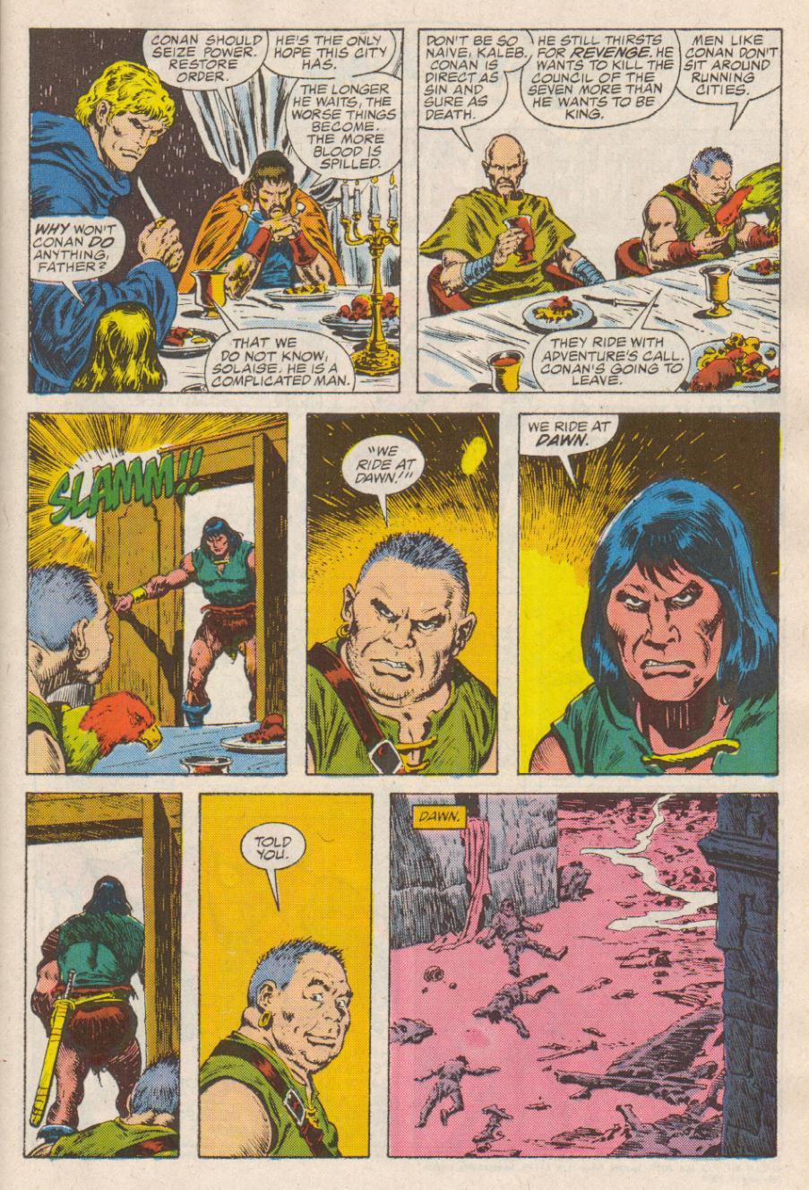 Conan the Barbarian (1970) Issue #190 #202 - English 8