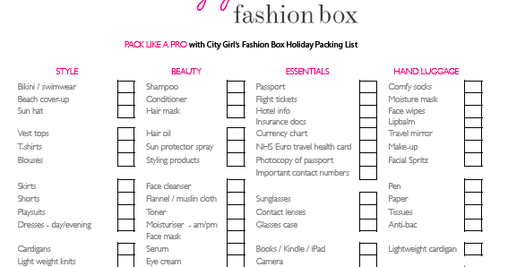 the city girl blog  jet  set  go  holiday packing list