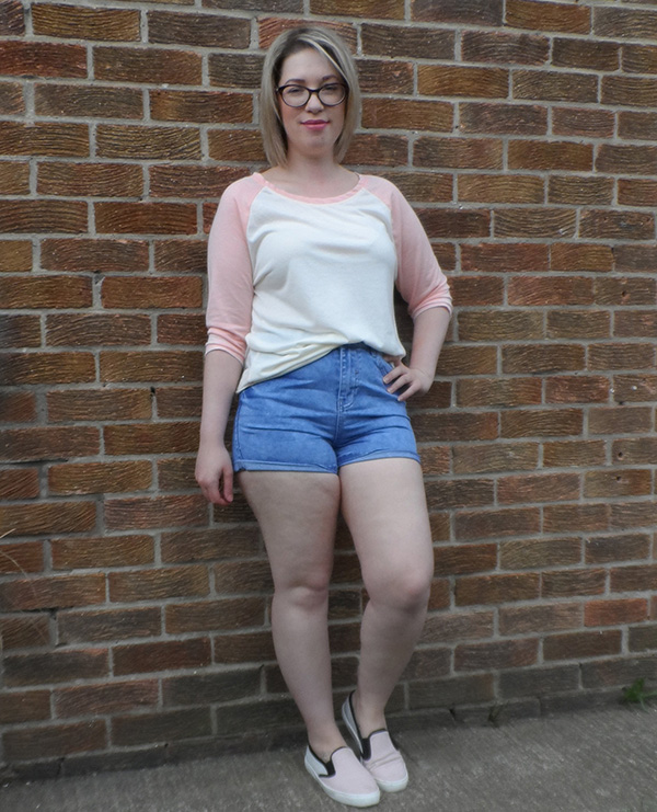 New Look Baseball Tee Denim Shorts ASOS Skaters