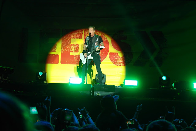 Metallica Leeds festival