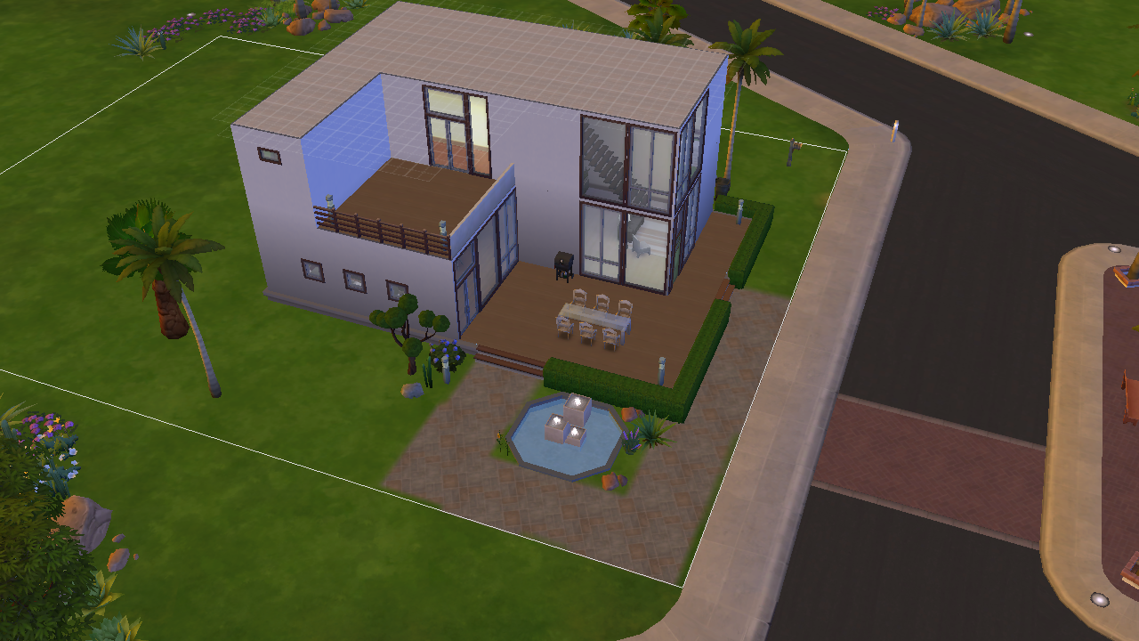 Average sim 10 things about the sims 4 for Minimalist house sims 2