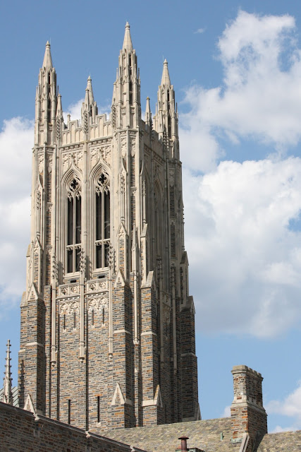 Duke Chapel from BC Walkway