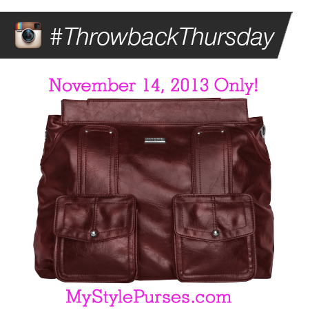 Miche Throwback Thursday November 14, 2013 - Cheryl Prima Shell $12.95