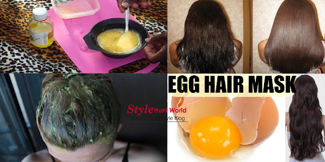 Egg Hair Mask For Dry, Frizzy And Fast Hair Growth, Best Home Remedy!