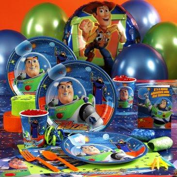 Algunas Ideas De Decoracion De Fiestas Infantiles De Buzz Lightyear