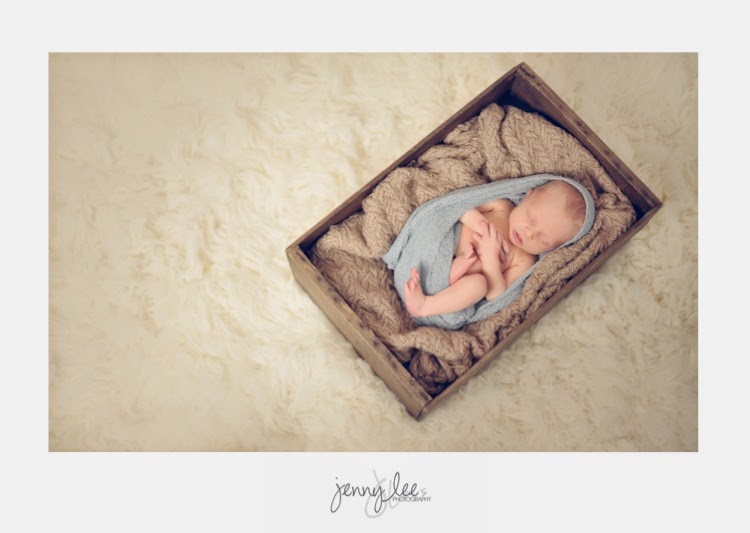 Baby Box Prop with Flokati