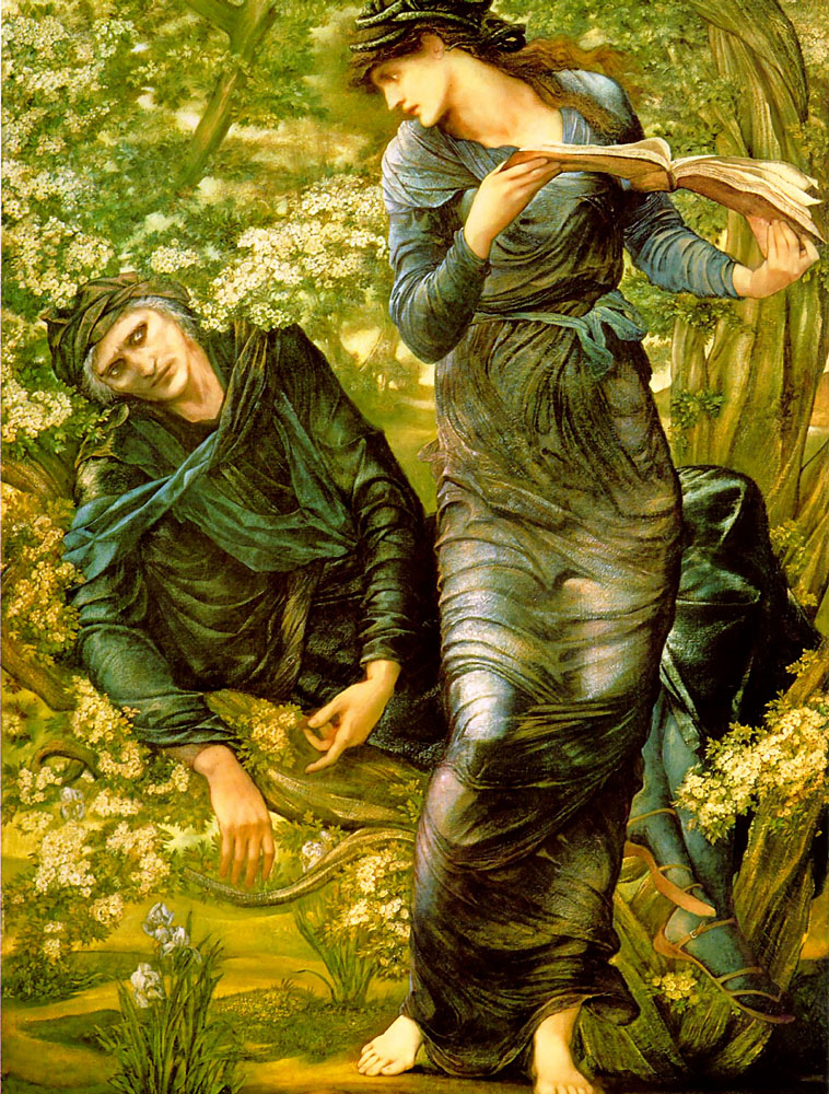 Edward Burne-Jones merlin