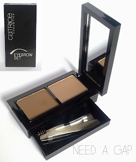 catrice eyebrow swatch review