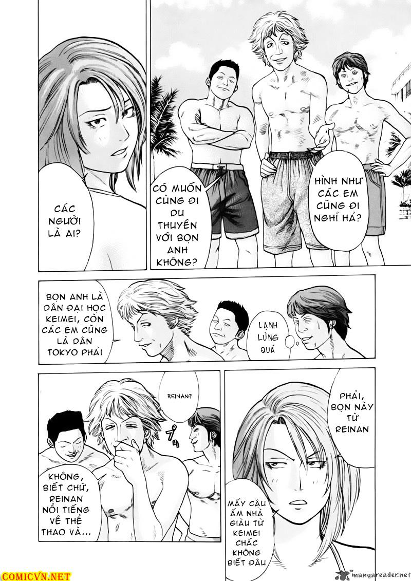 Karate Shoukoushi Kohinata Minoru chap 41 Trang 14