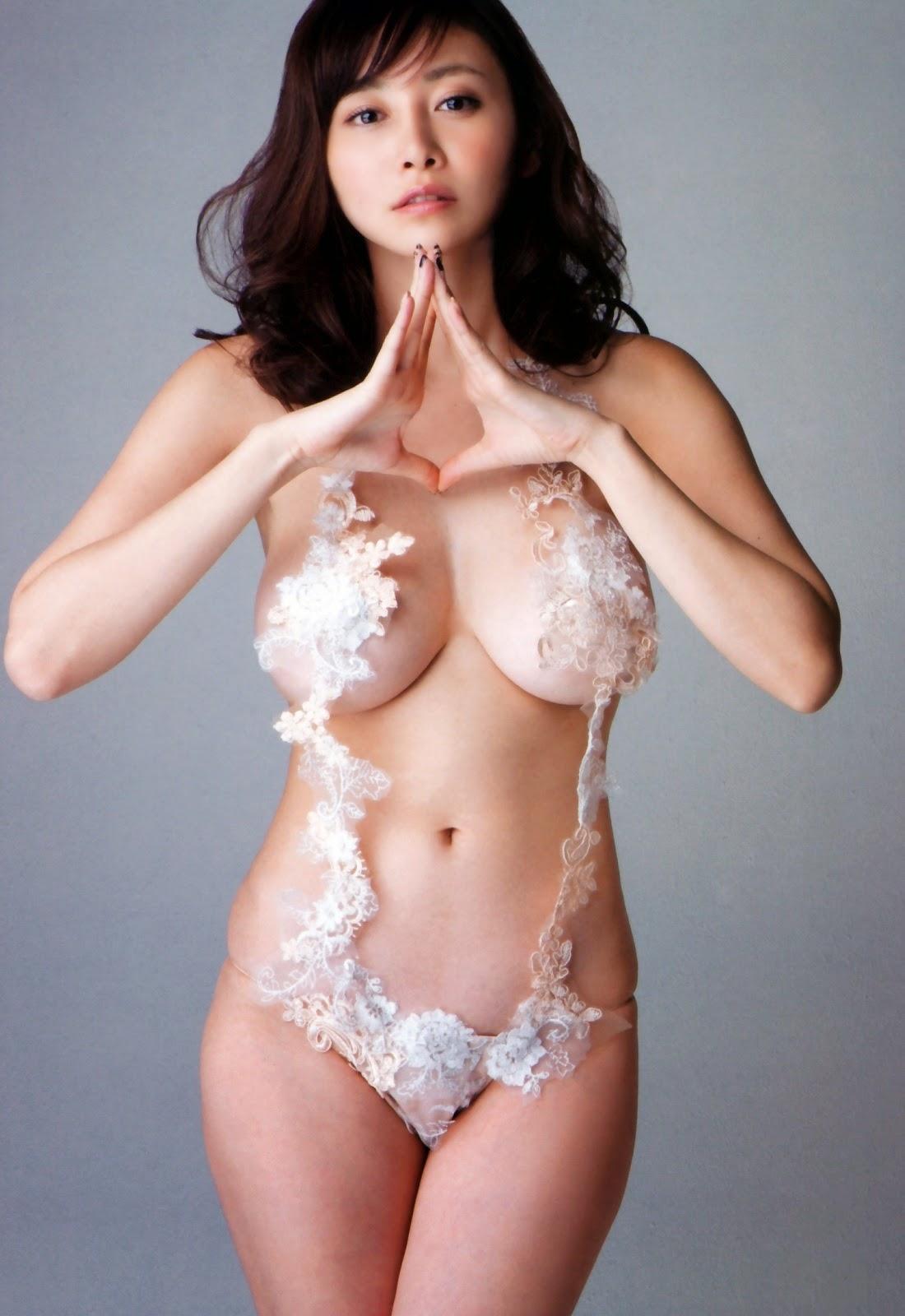 Anri Sugihara 杉原杏璃 Nude Naked Photos 5