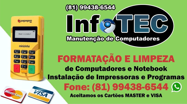 InfoTEC Manutenção de Computadores