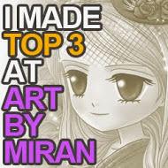 top 3 artbymiran challenge nº45