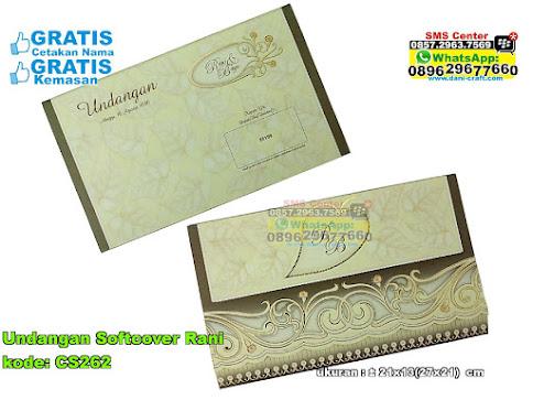 Undangan Softcover Rani 2993