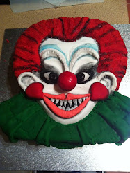 KILLER KLOWN CAKE