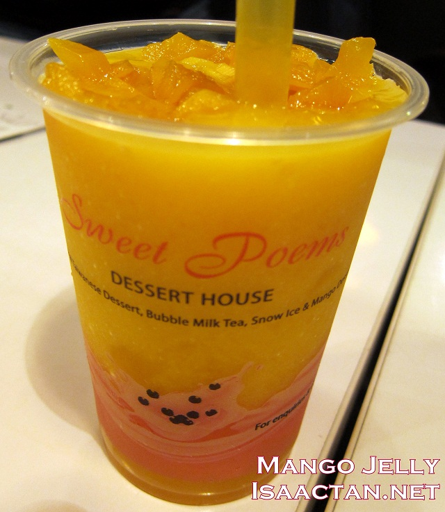 Mango Jelly Drink