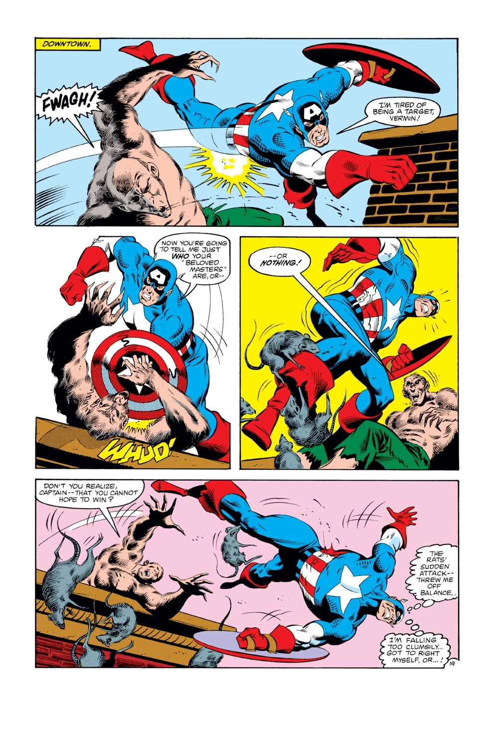 Captain America (1968) Issue #272 #188 - English 20