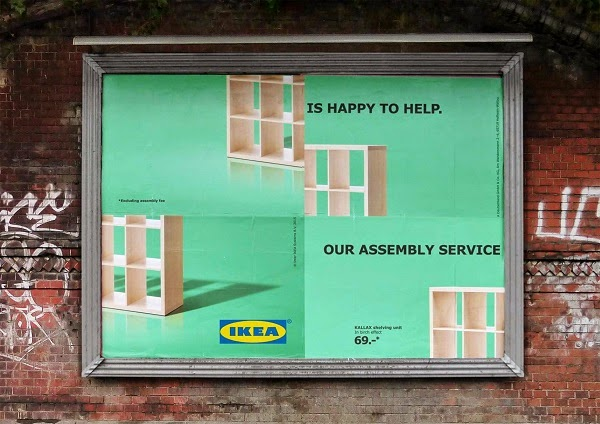 Charmant And Then I See This At Designtaxi.com   Playful IKEA Billboards Poke Fun At  Its Self Assembly Furniture   When Being Wrong Gets The Right Message  Across.