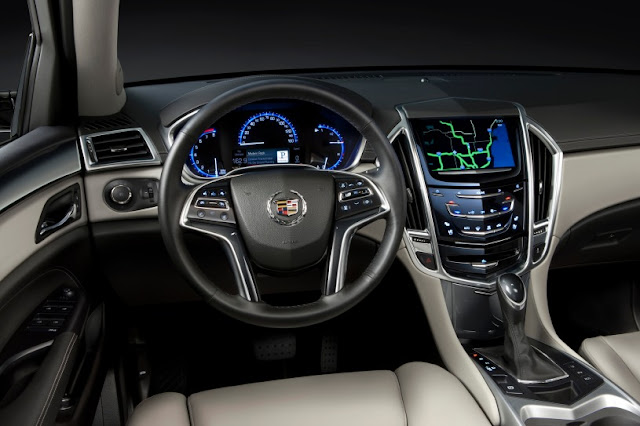 2015 New Cadillac SRX Changes interior dashboard