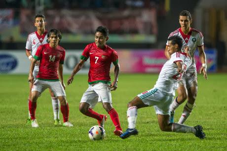 Indonesia Kalah 1-2 dari Maroko