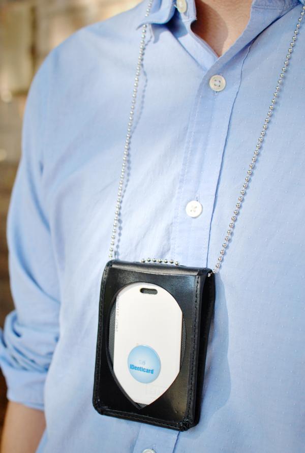 work badge holder