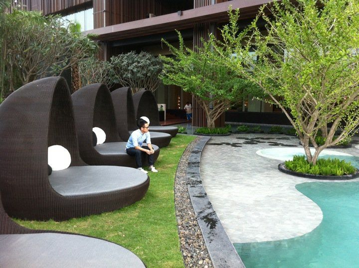 Modern Landscaping Ideas With Beautiful Seating