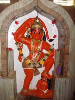 masur maruti - 11 Maruti temples akara hanuman darshan
