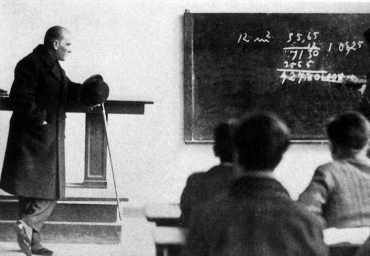 Matematik Büyücüsü Atatürkün Matematiğe Ve Geometriye Verdiği önem