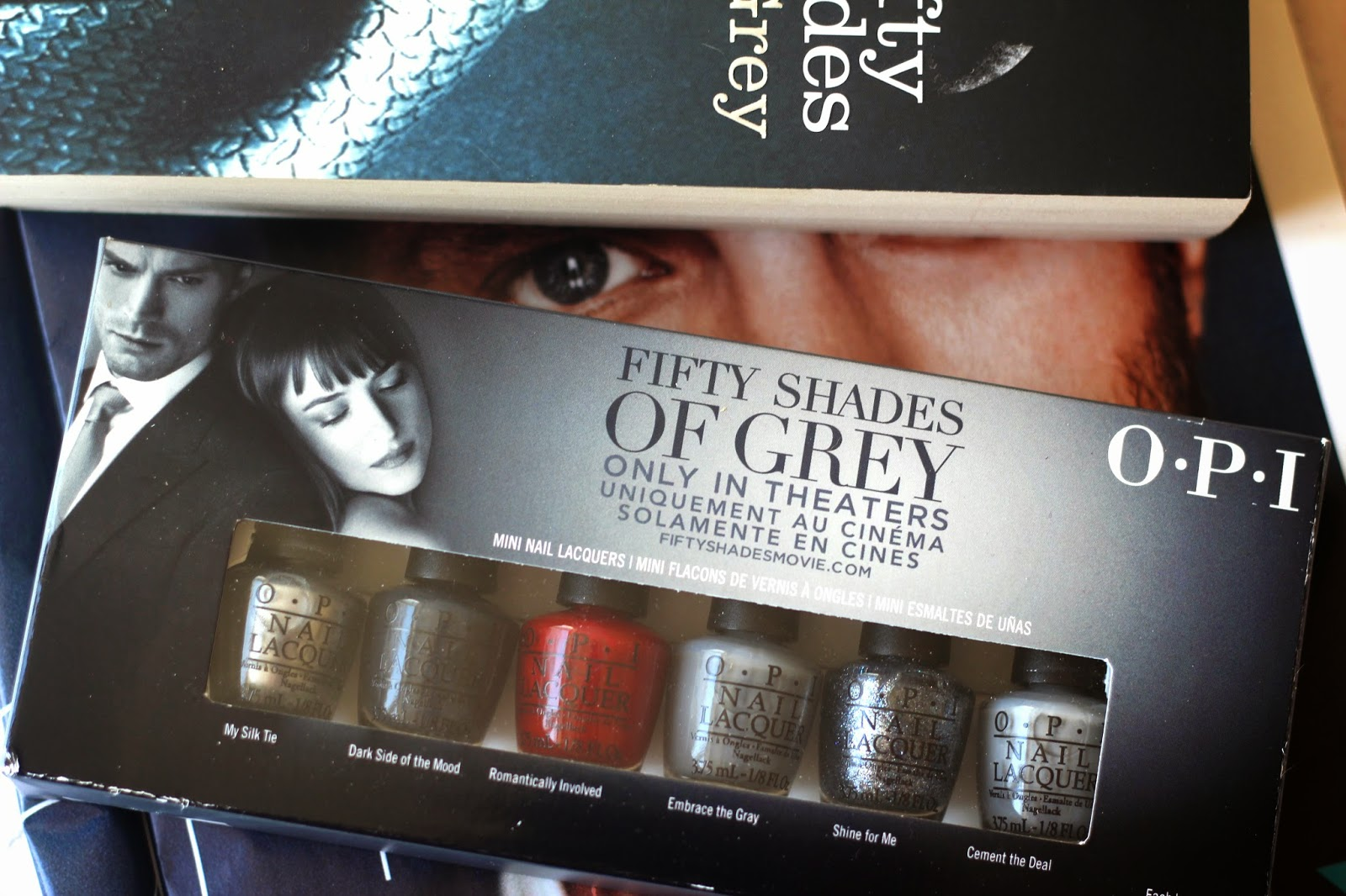 OPI - Fifty Shades of Grey Collection, NOTD, Nail Polish, Review, Blog