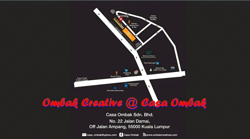 Ombak Creative @ Casa Ombak, Buffet Ramadhan, Promosi Ramadhan, Majlis Berbuka Puasa, Lokasi Strategik Casa Ombak
