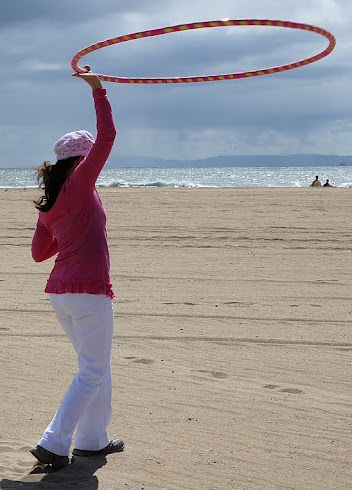Hula Hooping! It's for fitness. It's for fun. It's for adults.