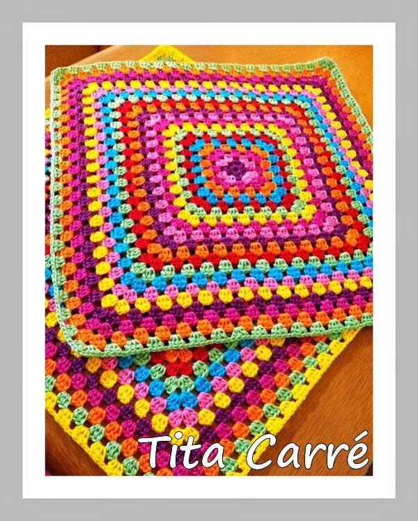 Quadrado\Square Multicolorido para uma almofada