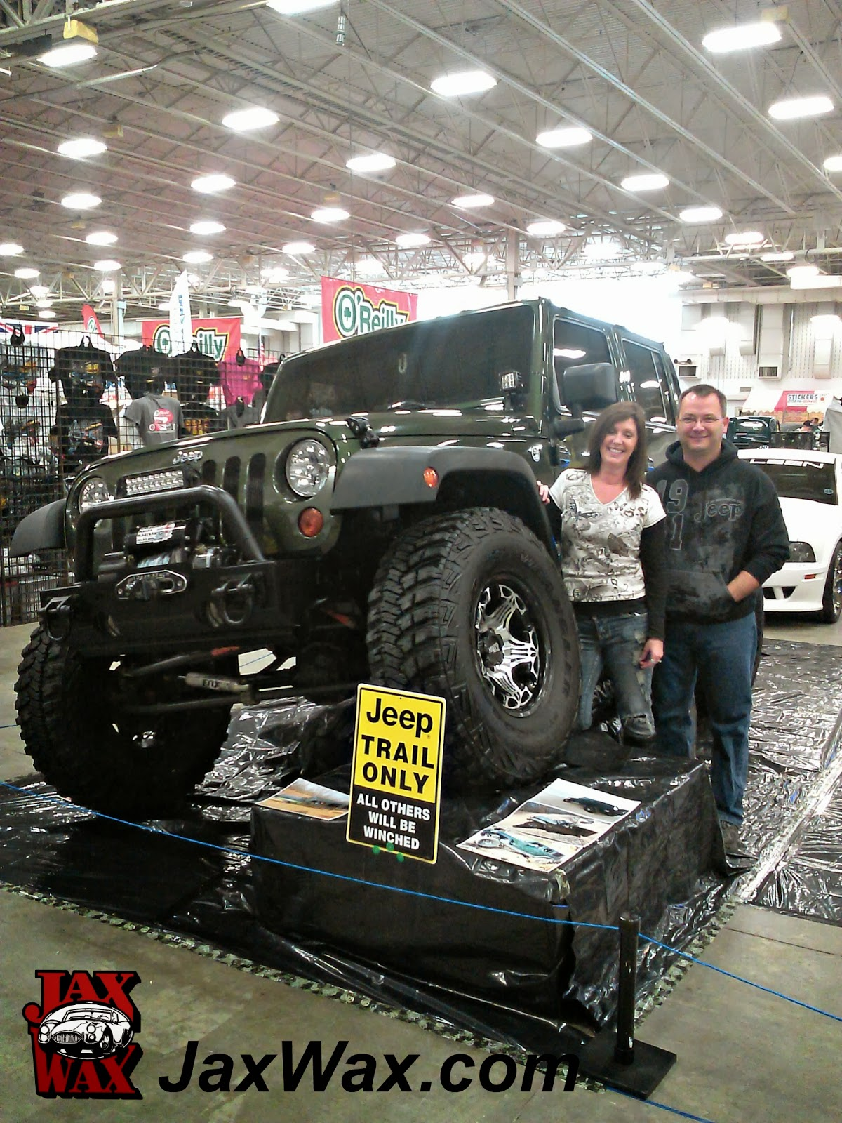 2008 Jeep Wrangler Unlimited Indianapolis World of Wheels Jax Wax Customer
