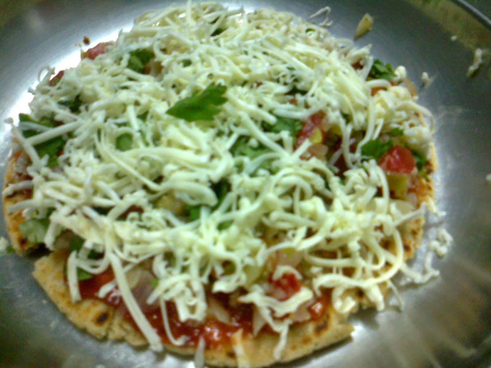 Gujarati Pizza Recipe