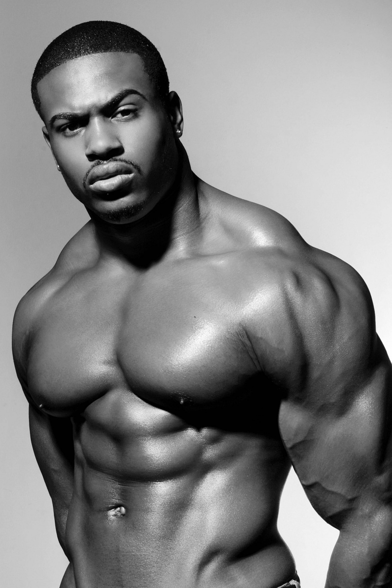 hot black gay man