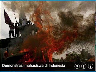 inovLy media : Demonstrasi mahasiswa di Indonesia