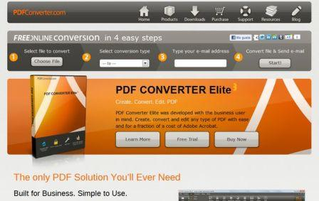Convierte archivos de Pdf a Word o Excel, PdfConverter