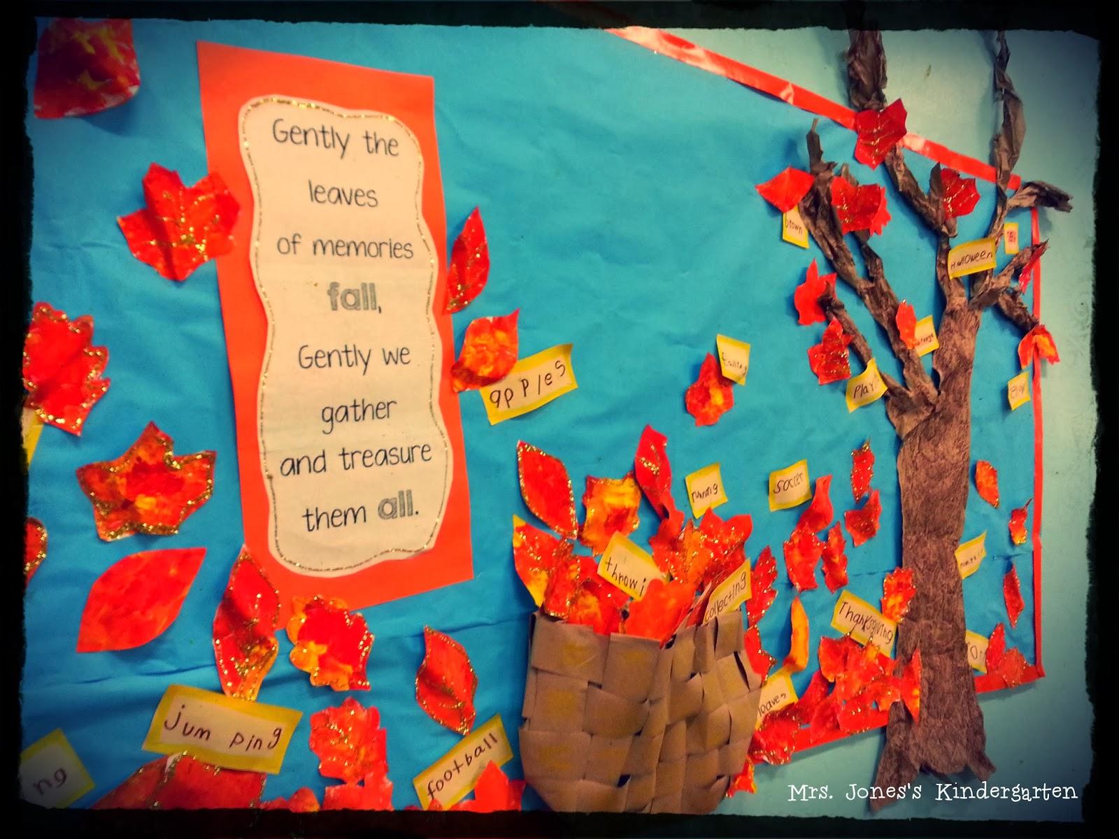 fall boards preschool finally mrs jones s kindergarten 884