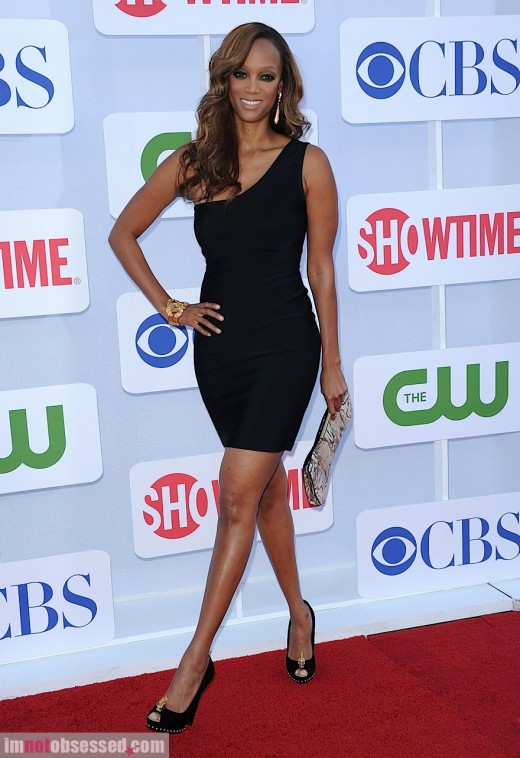 Tyra Banks Looks Lovely In Her LBD » Celebrity Style | Tyra Banks